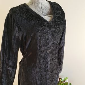 Celtic Velvet Dress